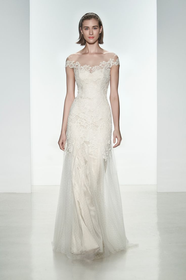 Wedding gown by Christos