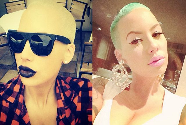 Wow! Amber Rose flaunts new pink Jeep in matching hot jump suit, but who's this new guy she's with here