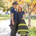 The most adorable firefighter engagement pictures by KB Digital Designs.