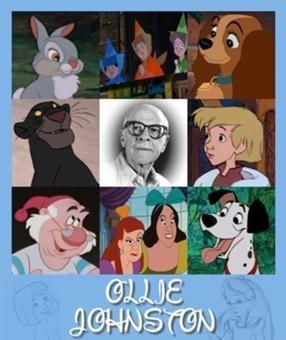 Ollie Johnston, amazing animator