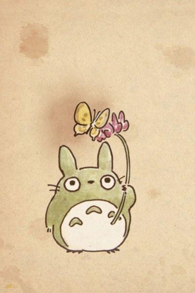 Totoro Flowers | Sticker