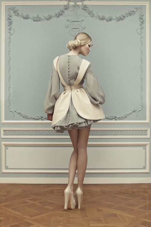 """suicideblonde:  Ulyana Sergeenko Haute Couture Spring/Summer 2013 lookbook   """