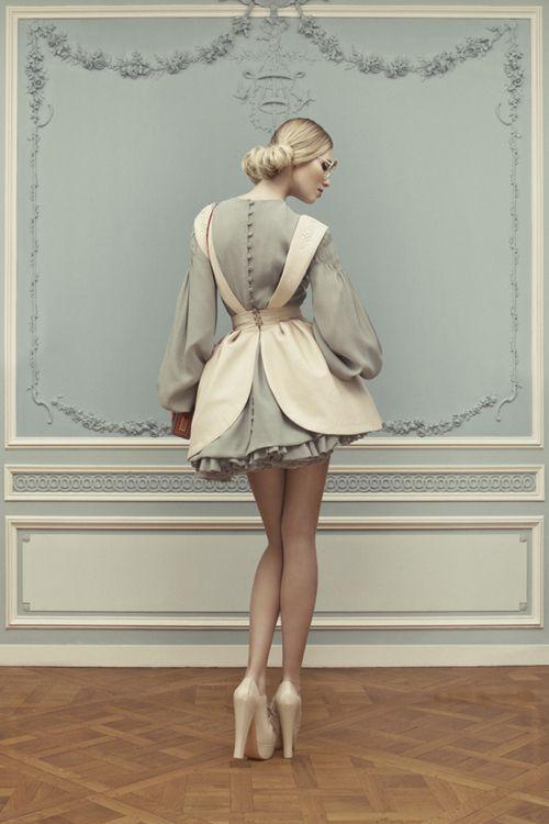 """""""suicideblonde:  Ulyana Sergeenko Haute Couture Spring/Summer 2013 lookbook   """""""