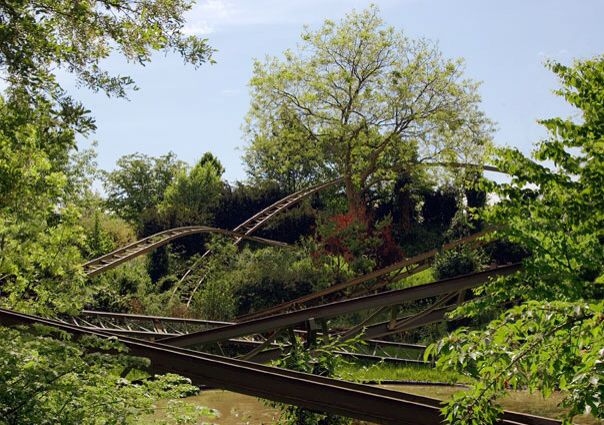 #diary #rivkahyoung #20022015 #delos #rollercoaster #nature #tree #green #searchingforparadise #whichworlddidyoujustcomefrom #leisureparc #bluesky
