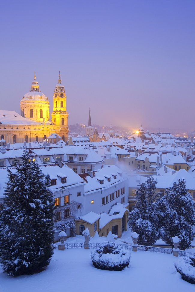 Central Europe in winter: 4 cities to visit