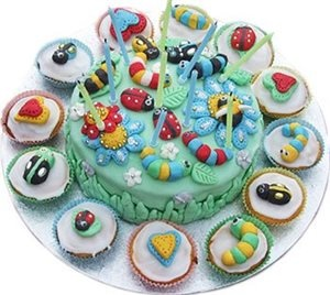 Bug Birthday Cake Images