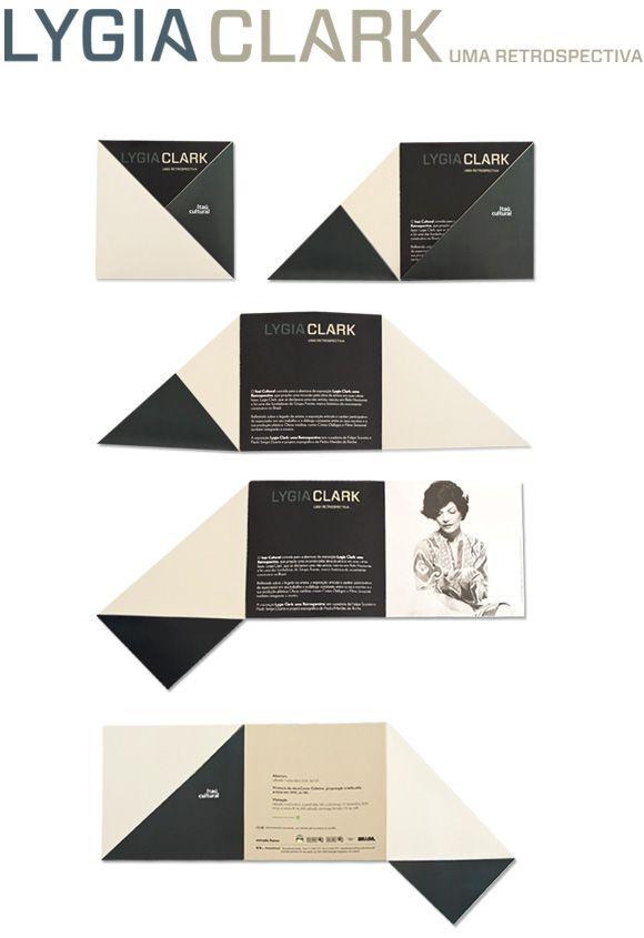 Lygia Clark, identity for exhibition by Jader Rosa www.jaderrosa.com