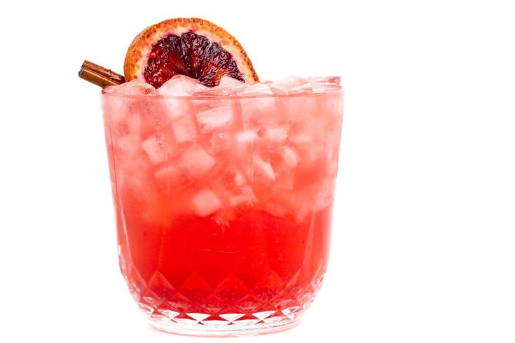 The Almost a Collins is a fun, new variation on the popular Vodka Collins, mixing premium vodka with blood orange juice and soda, and cinnamon syrup.