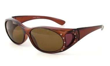 Calabria 2866 Polarized Fit-Over Sunglasses - Fitover USA