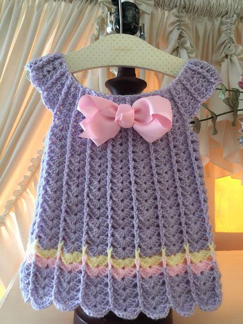 Lacy Crochet: Crochet Baby Dresses by Karen