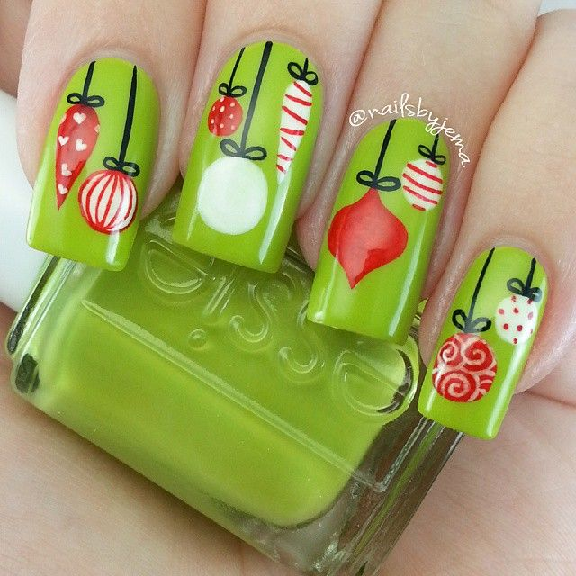 268 best Nails Holiday Art images on Pinterest  Holiday Ps and