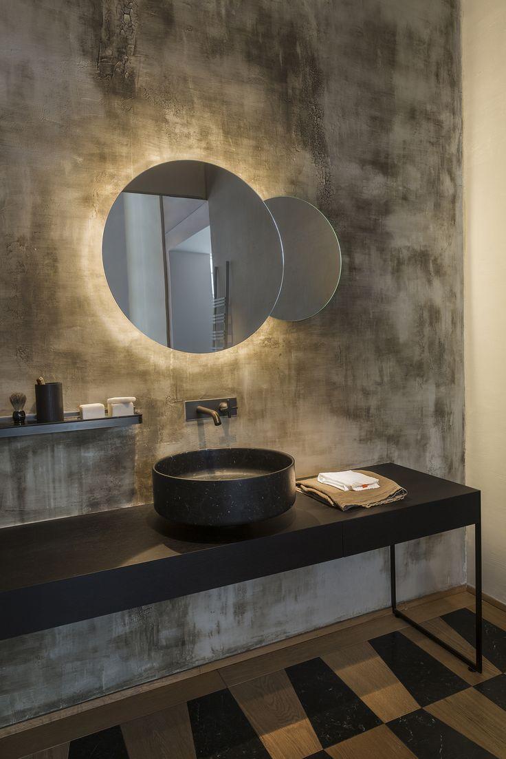 Matteo Brioni area at showroom Agape in Milan