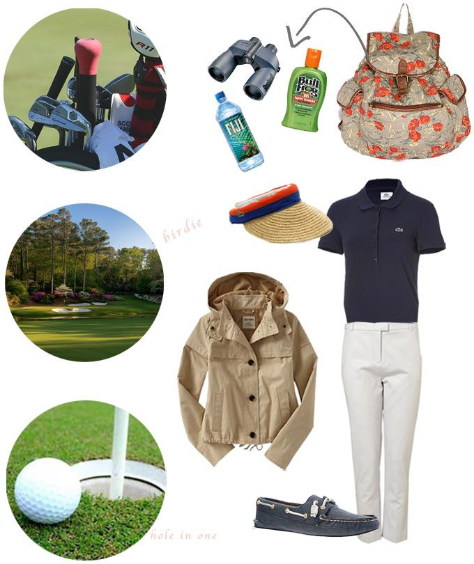 #Style in the course. Girlish casual outfit for a #golf day https://www.facebook.com/joinsotoluxury