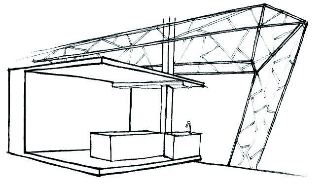 Kitchen & structure