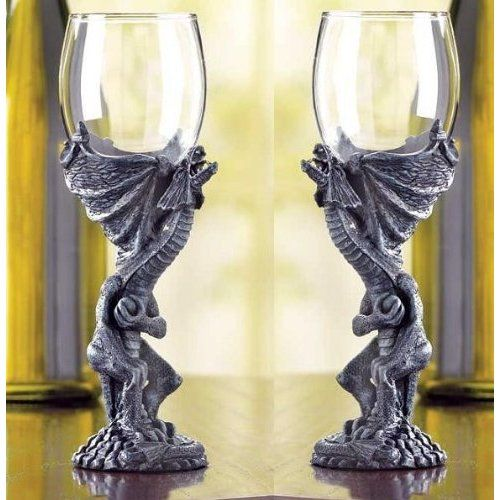Gothic Medieval Dragon Goblet