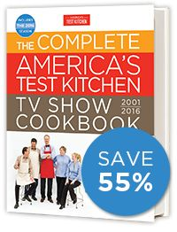 The Complete America's Test Kitchen TV Show Cookbook $19.99