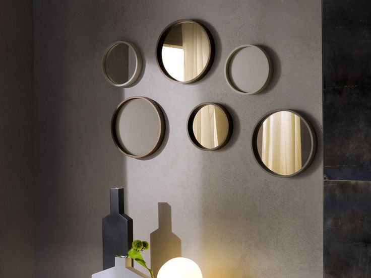 Buy online Oblo' By pacini & cappellini, round framed mirror design Studio Controdesign