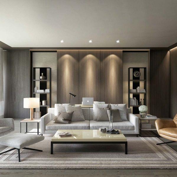 58 Stylish Sofa Designs For Modern Interiors Modern Contemporary Living Room Contemporary Decor Living Room Contemporary Living Room Design Modern furniture decor living room