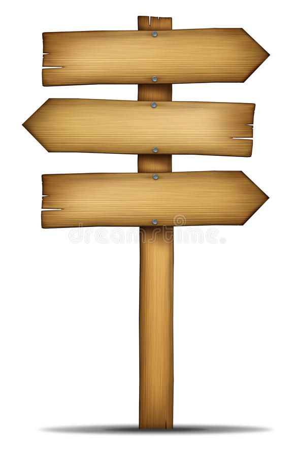39+ Wood direction sign clipart information