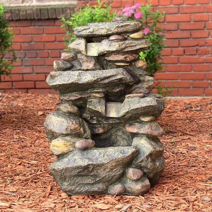 11 best Fountains images on Pinterest Garden fountains, Outdoor