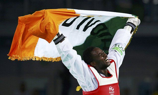 Cheick Sallah Cisse wins gold in men's 80kg Taekwondo for Team GB