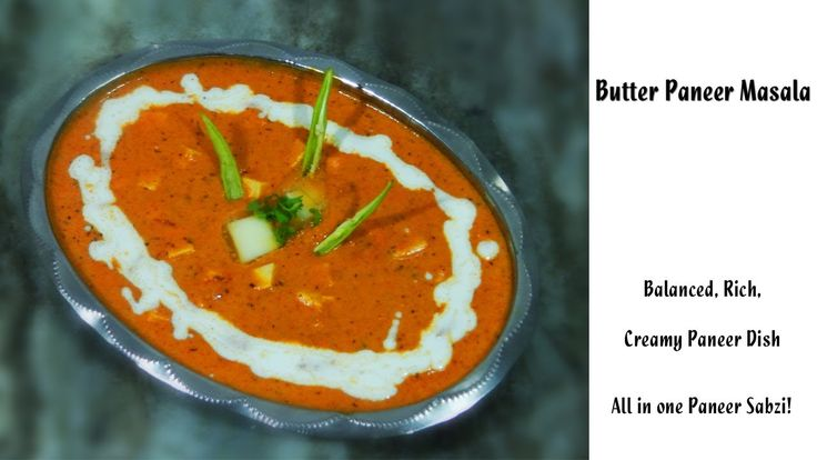 Find the detailed recipe here at: http://youtu.be/NcHP7HwiqfY  #indiancooking #butterpannermasala #pannermakhanwala #indiancuisine #food
