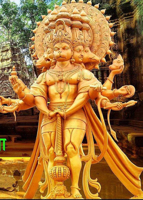 Panchamuga Anjaneya