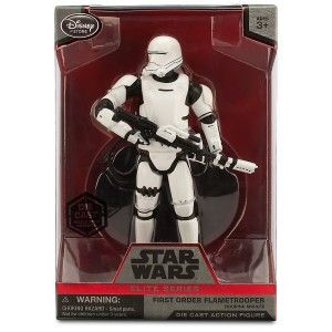 Star Wars The Force Awakens Elite Series First Order Flametrooper Exclusive 6 1/2″ Diecast Figure