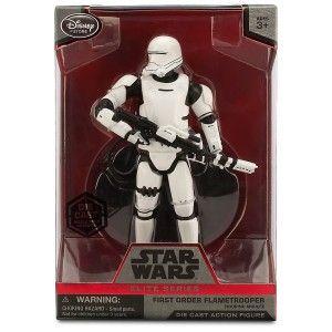Star Wars The Force Awakens Elite Series First Order Flametrooper Exclusive 6 1/2″ Diecast Figure