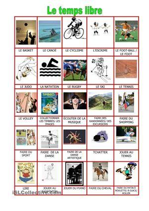 Dictionnaire visuel - Fiches FLE