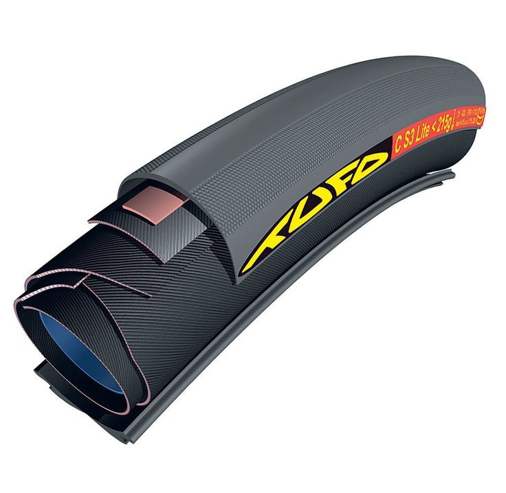 Tufo S3 Lite Racing Tubular Road Bike Tyre 700 x 21 - Black