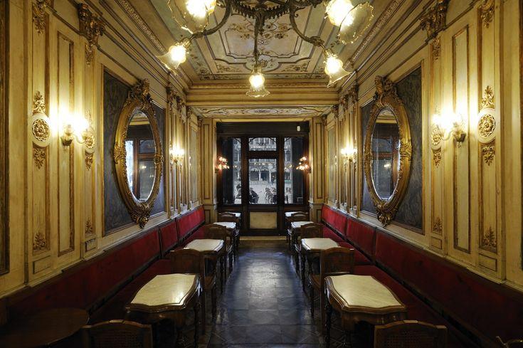 The Seasons' Room - Caffè Florian - Venice - Antique Italian Best Cafes - #Artemest