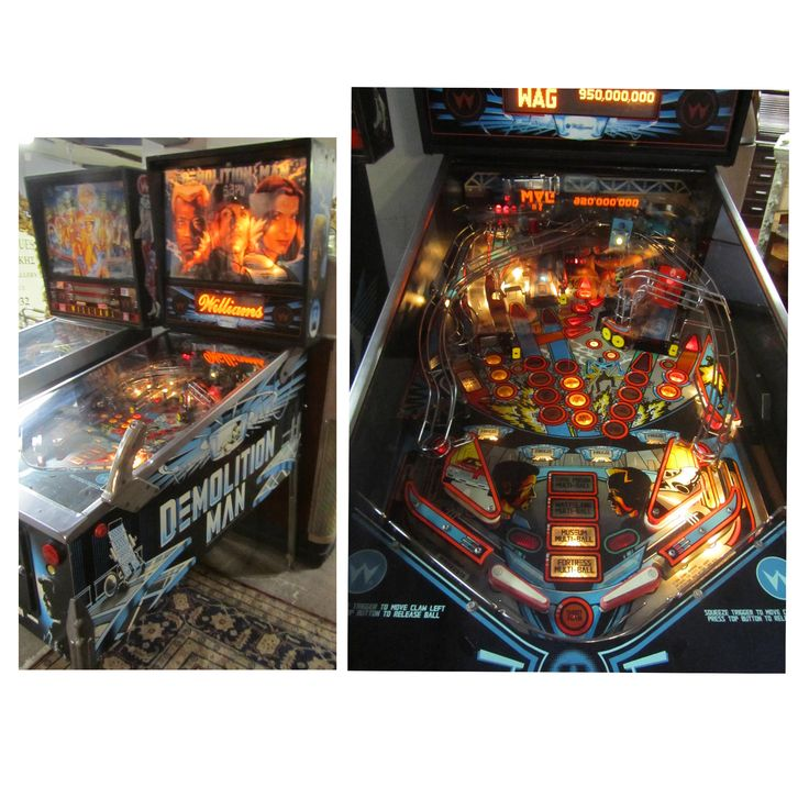 Restored William Pinball