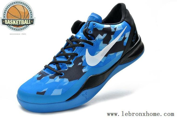 Nike Zoom Kobe 8 Blue Black White