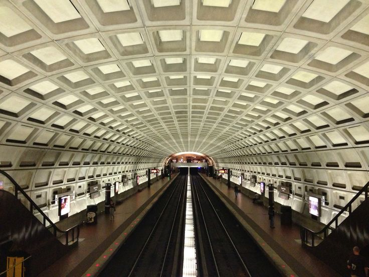 dupont circle subway station, washington dc.