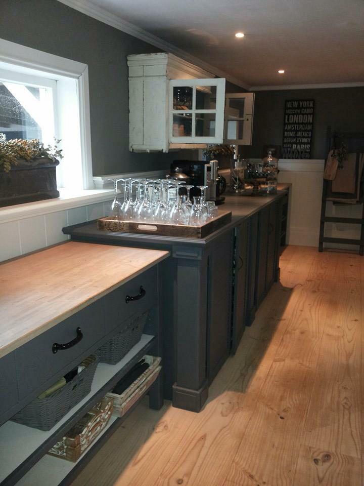 Keuken antraciet naughty 39 s kitchen pinterest - Redo keuken houten ...
