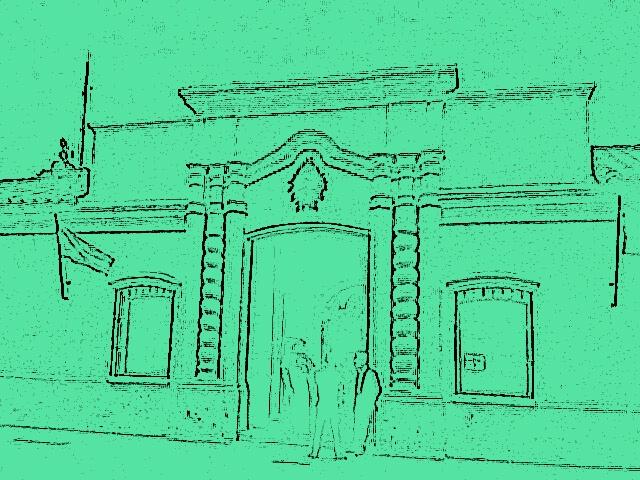 Casa de la independencia, Tucumán (estilo dibujado)
