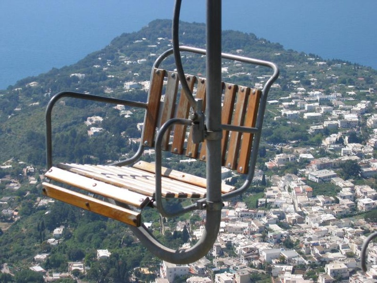 I remember sitting on one of these!  Capri, Italy