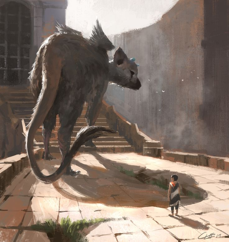 The Last guardian , Charles Lee on ArtStation at https://www.artstation.com/artwork/QPAZB