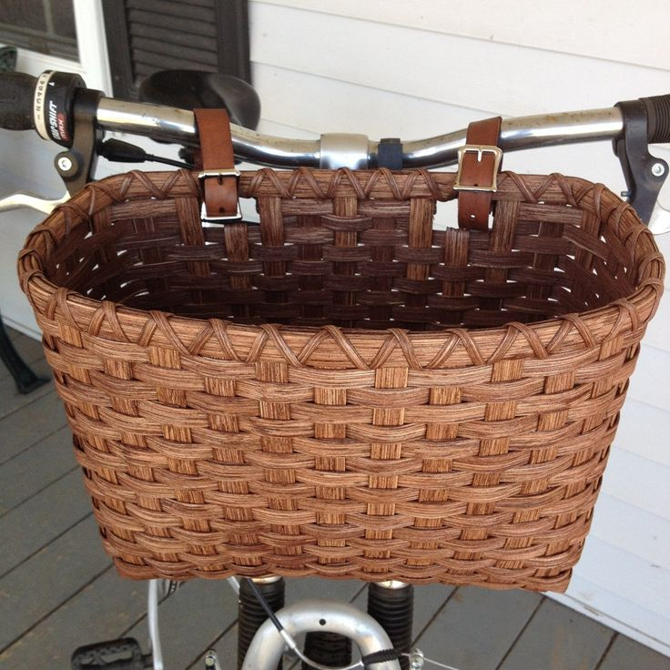 Bicycle Basket - Tall by JoannasCollections on Etsy