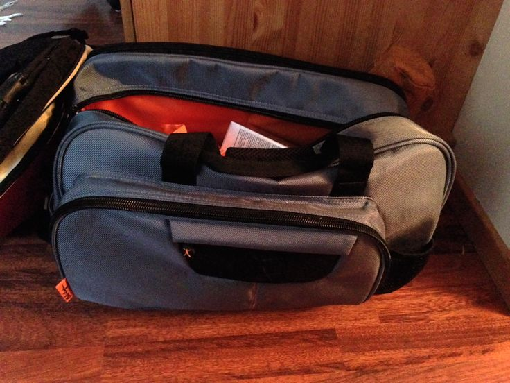 The NOW Club Duffle from Phil Keoghan's luggage line is perfect both when going gym and when traveling.