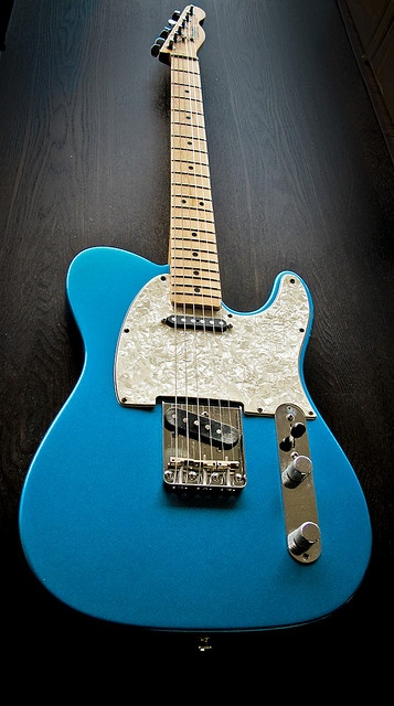 Lake placid blue Tele