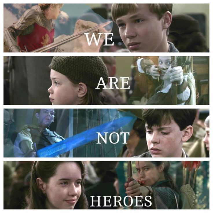 And they weren't, in the beginning they were just four kids torn from their home by war. they didn't try to do anything extraordinary, they just explored, then tried to rescue Edmund. And at the end, they are ordinary once more, but they have become much more than they had dreamed.