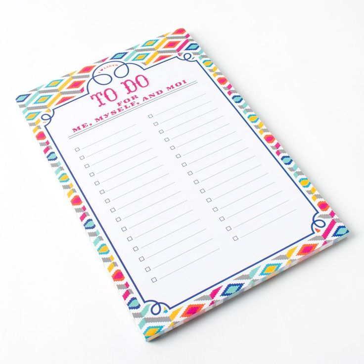 Best 25+ To do list pad ideas on Pinterest Print calendar 2017 - printable office supply list