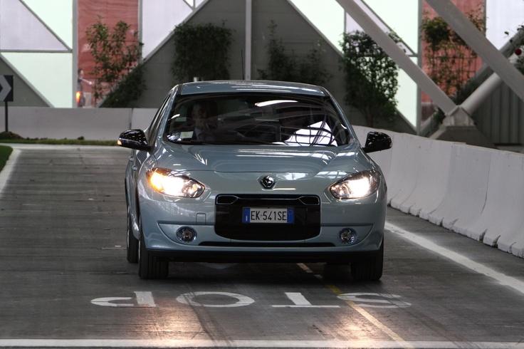 Renault Fluence @motorshow di Bologna 2012