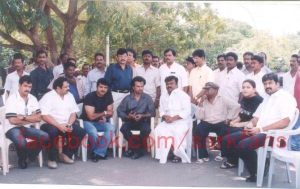 Rajinikanth with Tamil Actors