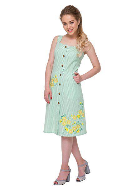 Bestickt Boho Kleid Weiß mit grünen Streifen Frauen. Wyschywanka.  Ukrainische Stickerei (XS  746c6f23a8