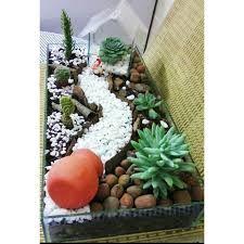 Resultado de imagem para mini jardim artificial