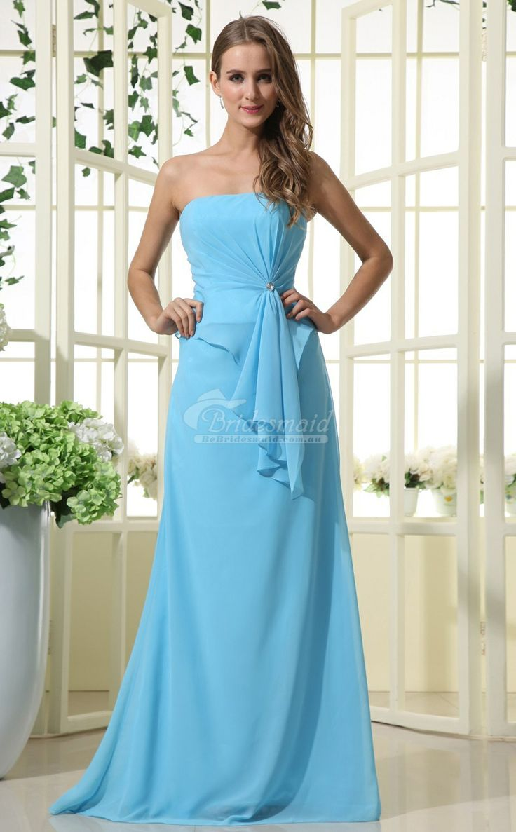 46 best Chiffon Bridesmaid Dresses images on Pinterest | Bridesmaid ...