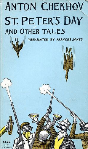 """Chekhov, Anton """"St Peter's Day and Other Tales""""  Cover by Edward Gorey"""